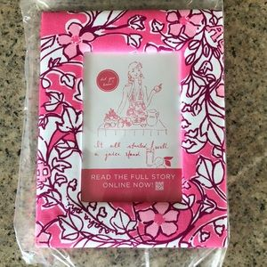 Lilly Pulitzer Sorority Picture Frame - Alpha Phi
